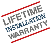 Lifetime Installation Warranty